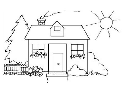 House Fire Coloring Pages Kindergarten