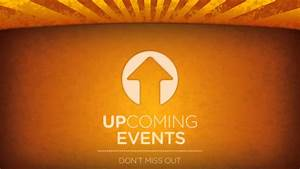 Upcoming Events Church Display - YouTube