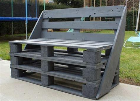 canapé convertible made in 1001 idées pour fabriquer un banc en palette charmant