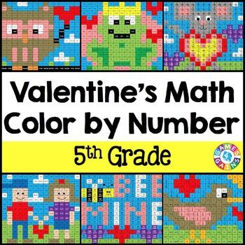 grade valentines day activities  grade valentines day math coloring