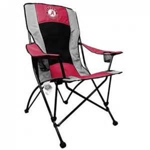 alabama crimson tide high back tailgate chair
