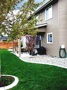Front, Yard, Landscaping, Ideas, River, Rock