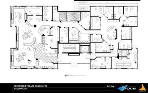 modern office building design layout portfolio optometric offices modern design oadbe Modern Office Building Design Layout