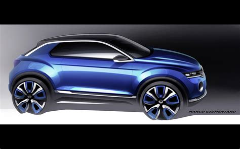 2018 Volkswagen T Roc Concept Illustrations 3