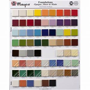 Mayco Ceramic Paint Color Chart Ceramic Arts