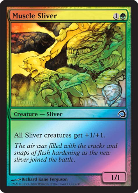 magic the gathering sliver deck premium deck series slivers magic the gathering