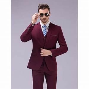 Costume Décontracté : costume homme pas cher bordeaux costume femme 4 images 1 mot ~ Louise-bijoux.com Idées de Décoration