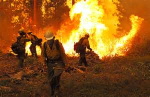 California Wildfires Firefighters
