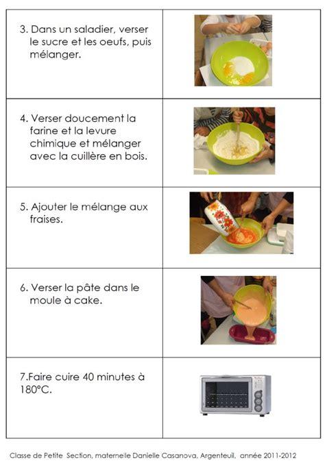 recettes illustrees pour la maternelle