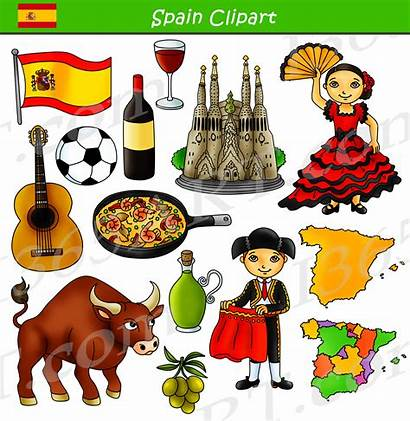 Spain Clipart Culture Clip Graphics Spanish Customs