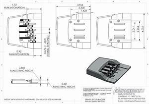Hipshot 5rk400bc 4 String Chrome Rickenbacker U00ae Replacement