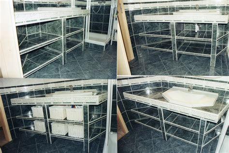 Gefliester Waschtisch Foto & Bild  Möbel, Alltagsdesign