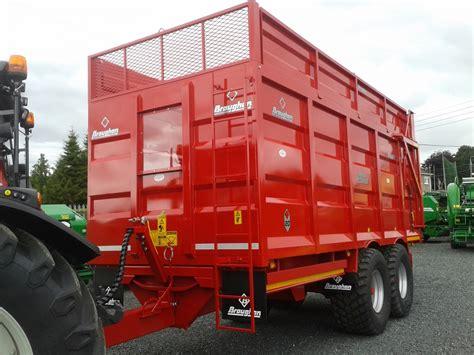 broughan grain silage root crop trailers clarke machinery