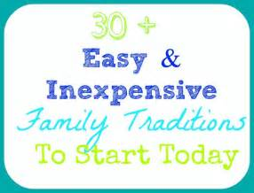 Holiday Family Traditions Ideas