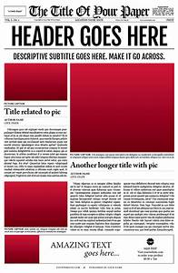 Best photos of fill in the blank newspaper layout blank for Free printable newspaper template for students