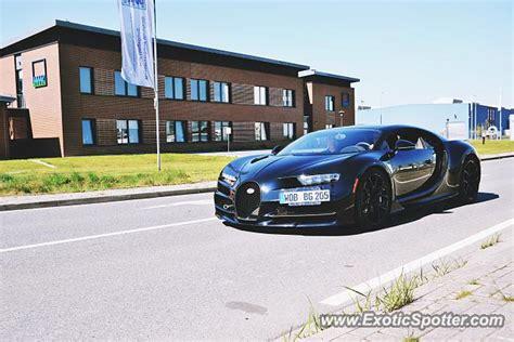 Bugatti Chiron Spotted In Vorsfelde, Germany On 05/02/2016