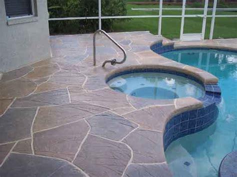 decorative concrete overlays acrylic concrete finishes