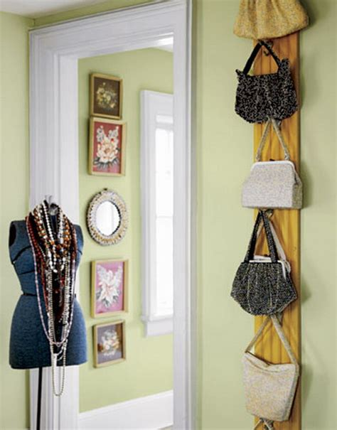 Diy Taschen Aufbewahrung by 21 More Practical Bag Storage Ideas Shelterness