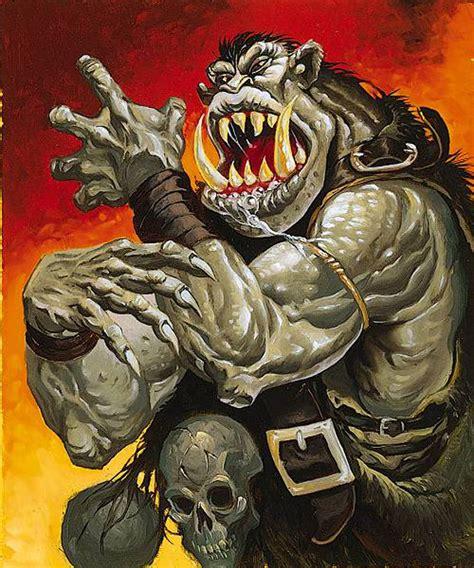 Great Ogre - Keith Parkinson Wallpaper Image