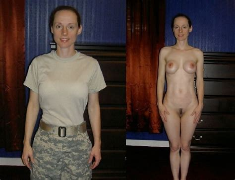 MILITARY DRESSED UNDRESSED ShesFreaky