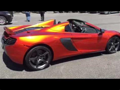 Volcano Orange Mclaren 650s Youtube