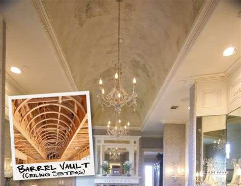 Barrel Groin Vaulted Ceilings by Stately Romanesque Ceiling Systems Archways Ceilings