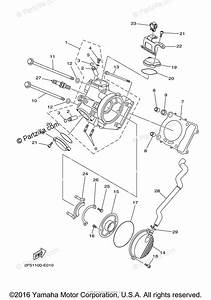 Yamaha Side By Side 2007 Oem Parts Diagram For Cylinder
