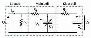 Two Branches Equivalent Circuit Of A Supercapacitor Cell