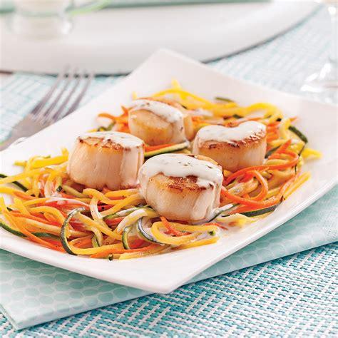 boursin cuisine pétoncles au boursin cuisine et julienne de légumes pour recevoir recettes 5 15 recettes