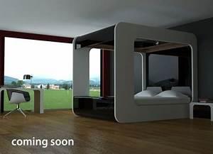 Lit Du Futur : hi can le lit baldaquin du futur ~ Melissatoandfro.com Idées de Décoration