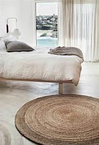 le tapis sisal pour une touche vintage a la maison With tapis rond sisal