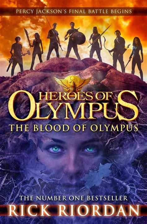 Heroes Of Olympus The Blood Of Olympus By Rick Riordan