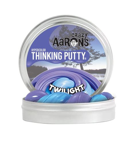 Crazy Aaron Thinking Putty Twilight Mini   Toys and Playtime Oasis