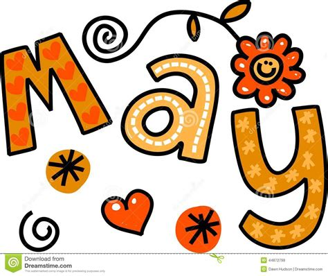 May Clip Month May Clipart Free Large Images