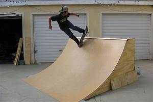 Developing a Wood Skateboard Ramp - Extreem Sport Zone