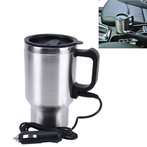 outdoor heater stainless steel electric smart mug 12v car electric kettle