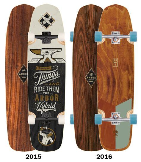 Arbor Longboard Decks Only by Arbor Koa Hybrid Longboard Skateboard Deck Deck Only