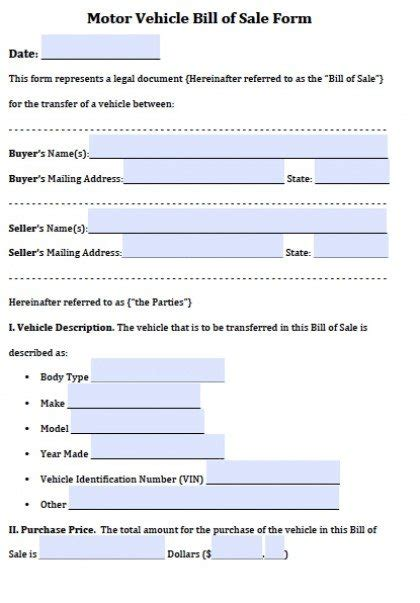 car bill of sale word free vehicle bill of sale forms pdf word doc