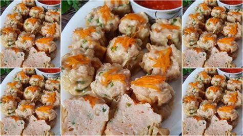 Resep cantonese babi goreng samcan lada garam yg garing. Resep Siomay Ayam Padat, Empuk Sedikit Garing