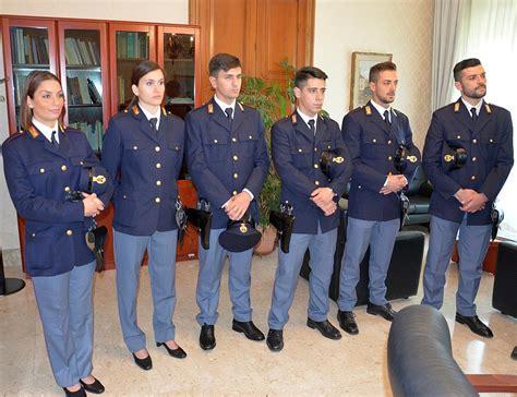 Questura Di Salerno Ufficio Passaporti - galleria fotografica nuovi agenti della polizia di stato