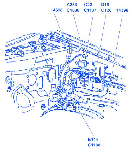 Ford Explorer Engine Part Electrical Circuit Wiring