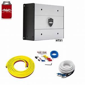 Wet Sounds Htx1 Package 650 Watt Amp Stinger 3 Meter 4