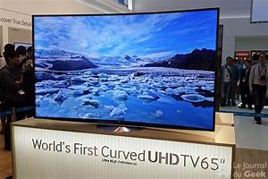 Dimension Tv 65 Pouces : ifa samsung pr sente une tv incurv e et uhd de 65 pouces ~ Melissatoandfro.com Idées de Décoration