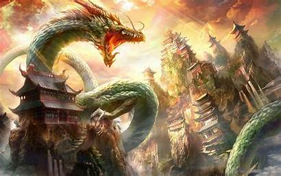 Dragon Chinese Wallpapers Oriental Dragons Realistic Japanese