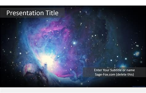 templates space powerpoint free space powerpoint template 6001 sagefox powerpoint