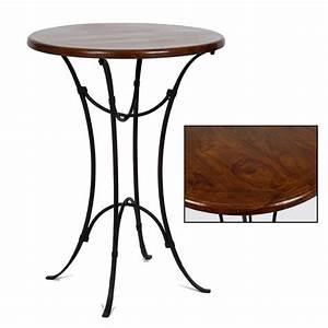 Table Haute En Bois : exemple table de bar haute bois ~ Dailycaller-alerts.com Idées de Décoration
