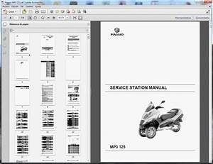 Piaggio Mp3  125  250  400 And 400lt
