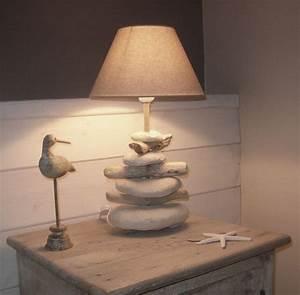 Lampe Chevet Bois Flotté : lampe chevet photo de c t bois flott bois effet mer ~ Teatrodelosmanantiales.com Idées de Décoration
