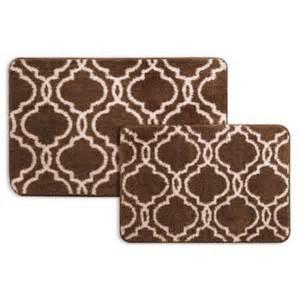 popular bath 2 piece bath rug set walmart com