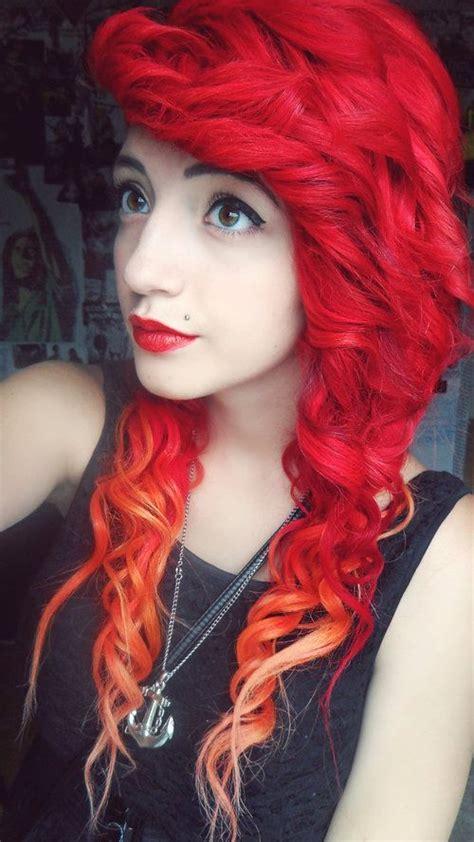 17 Best Ideas About Curly Scene Hair On Pinterest Scene